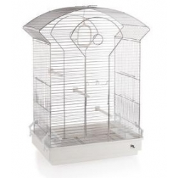 Bird cage with arched...