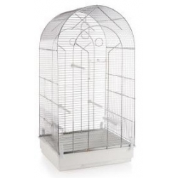 Bird cage with big round...