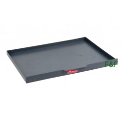 Gray plastic tray for 1m...