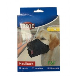 Muzzle for dogs, Nylon Trixie