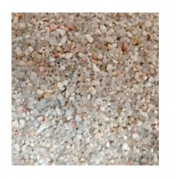 Siliceous gravel for...