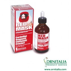 Red mask ornitalia