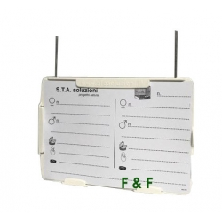 Card holder with wire I086 STA